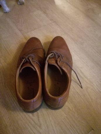 Buty Garniturowe Brązowe
