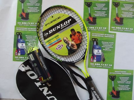 Rakieta do tenisa Dunlop + piłki