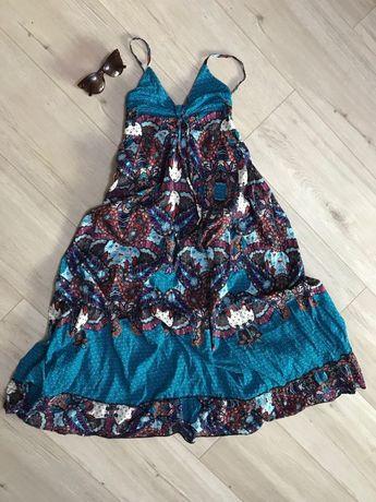 Новый! Сарафан летний длинный. Платье хлопковое