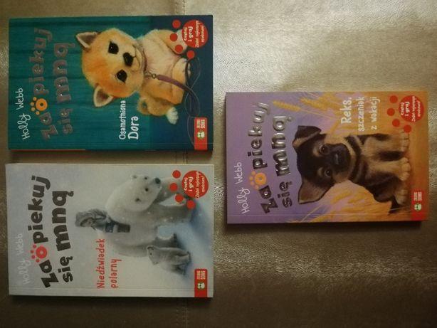 3 książki z serii Zaopiekuj się mną