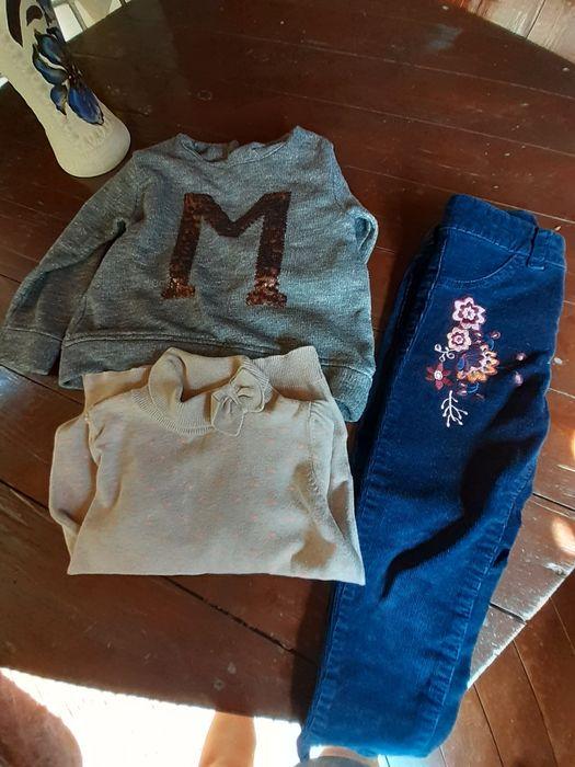 Стильные вещи для девочки 3-4 года пакетом от h&m и zara Шепетовка - изображение 1