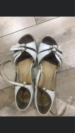 Туфли блок-каблук для бальных танцев
