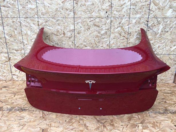 Tesla model 3 запчастини тесла розборка двері капот бампери