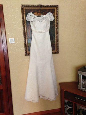шикарное платье на свадьбу или выпускной выпускное свадебное платье