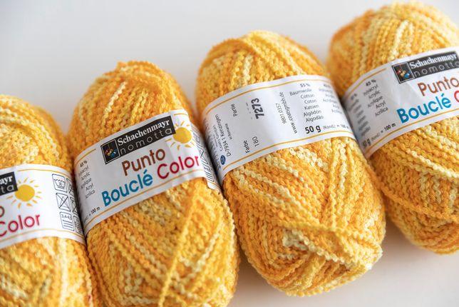 Włóczka 55% bawełna 45% akryl 200 g Nomotta Punto Bucle Color