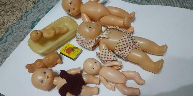 куклы игрушка пупс СССР игра кроватка