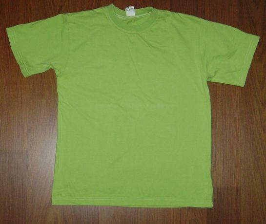 Zielony T-shirt bawełniany