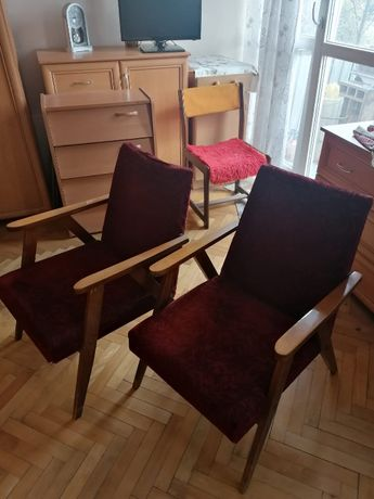 Fotele Vintage lata '70