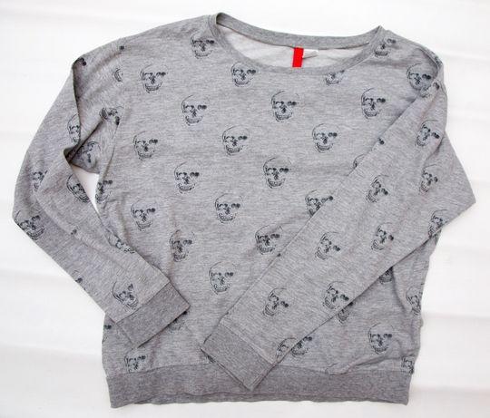 Bluza w czaszki, H&M, S