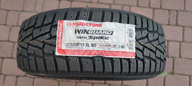 Зимняя резина Roadstone WinGuard WinSpike 215/55 R17 98T (шип)