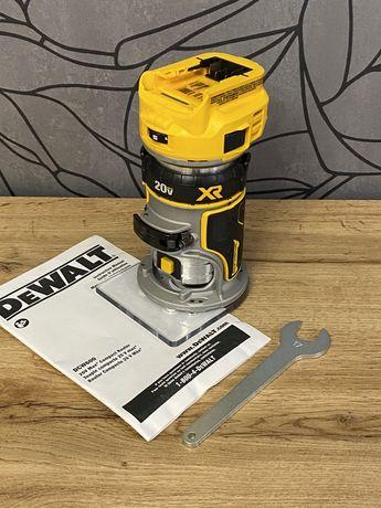 Аккумуляторный фрезер DeWalt DCW600 20В