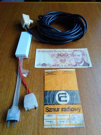 Sznur radiowy Unitra-Radmor 5100,5102Te,T PRL.