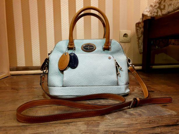 Эксклюзивная кожаная сумка (сумочка) Jasper Conran Faux Leather Grab