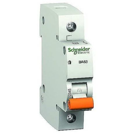 Автоматический выключатель Schneider Electric Домовой 4,5kA х-ка C