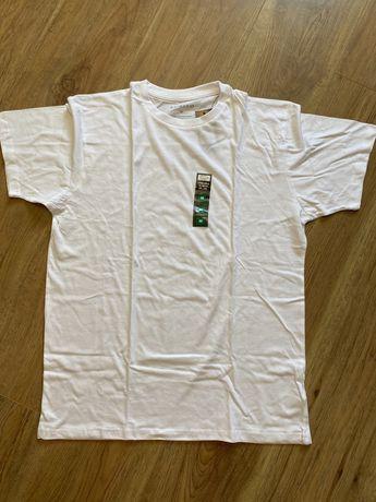 Базовая однотонная мужская футболка