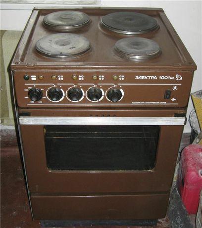 плита электрическая Электра 1001, рабочая электроплита