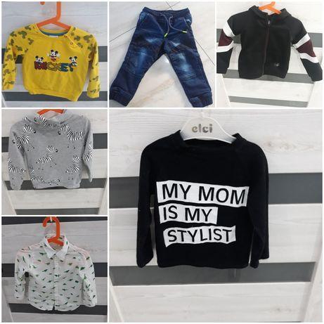 Ubranka dla chłopca 92
