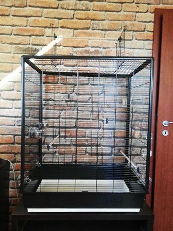 Duża klatka dla papugi/ptaka