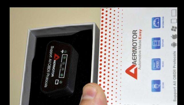 автосканер - ELM 327 - obd2 WIFI - диагностический адаптер сканер