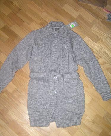 Новая Кардиган кофта теплая свитер для девочки Tossy kids