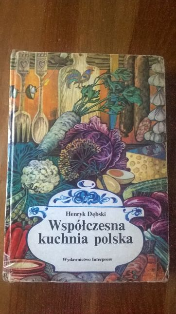 Książka kucharska Henryk Dębski
