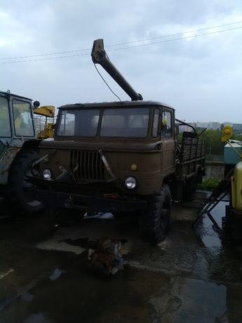 Буровая установка на базе ГАЗ 66