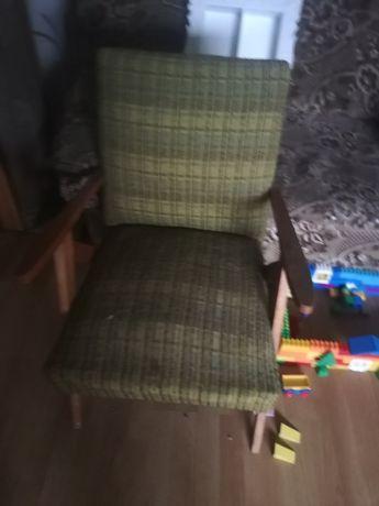 2 fotele w stylu prl