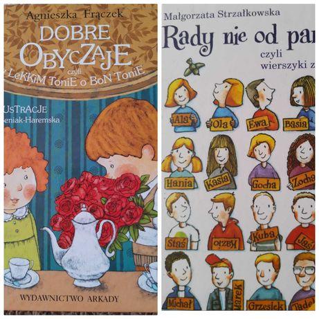 2 książki - Dobre obyczaje i Rady nie od parady