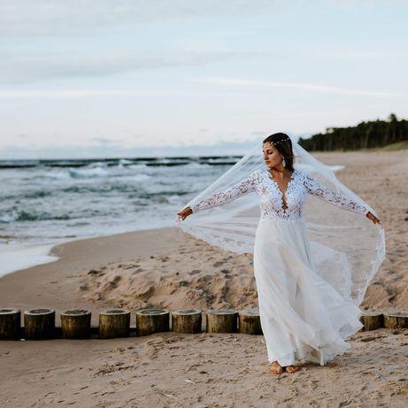 Suknia ślubna Cassandra od Agnieszka światły