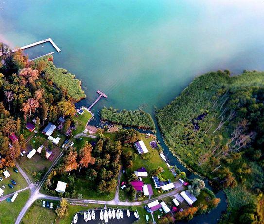 Działka rekreacyjna nad jeziorem, marina, port, wynajem
