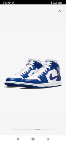 Nike Air Jordan 1 Mid Kentucky Blue