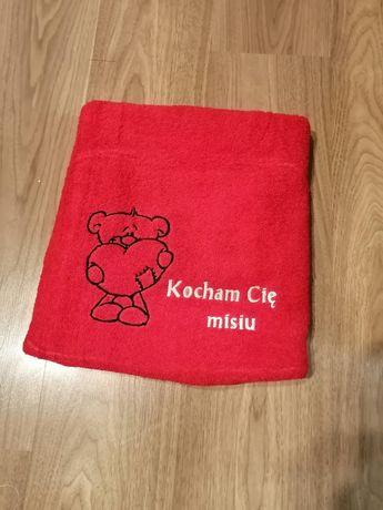 Ręcznik z haftem na WALENTYNKI 100cmx50cm I 140X70