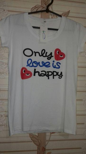 Красивая футболка S-M