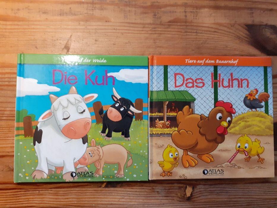Детские книги на немецком языке. Die Kuh- Das Huhn. Обухов - изображение 1