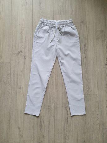 Nowe białe spodnie M/L