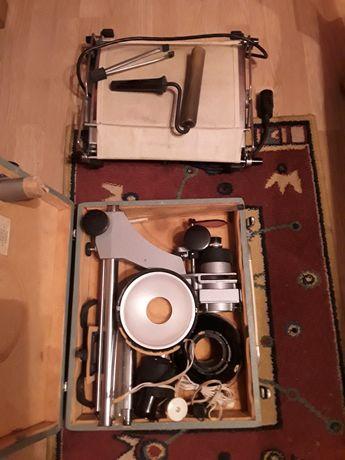 Zestaw do wywoływania zdjęć powiększalnik suszarka