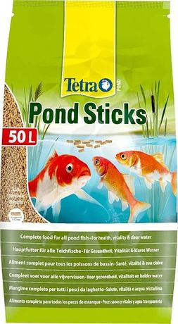 Бесплатная доставка!Тетра (Tetra) понд для прудовых рыб