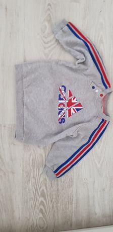 Bluza Adidas roz 74/80