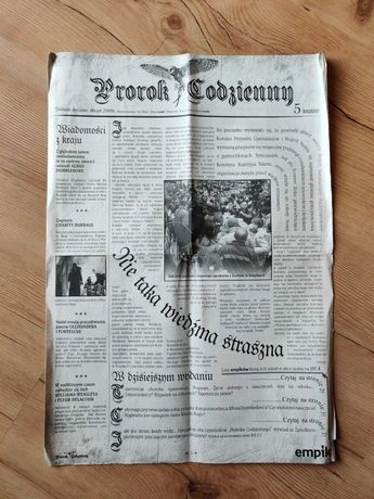 Prorok Codzienny, Gazeta - Harry Potter uniwersum - J.K. Rowling