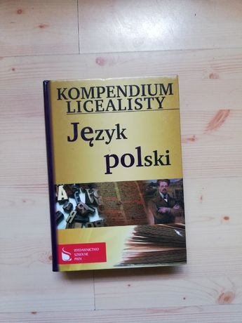 Kompendium licealisty j. polski repetytorium