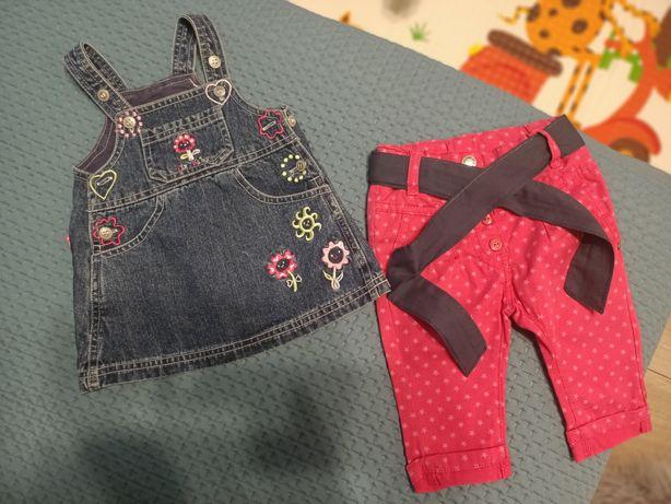 Комплект одежды / сарафан джинсовый / штаны для девочки