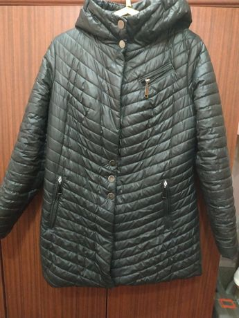 Шикарная демисезонная куртка пальто.