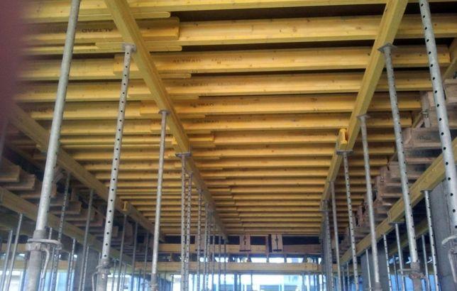Wynajem szalunki stropowe podpory 70gr/m2/