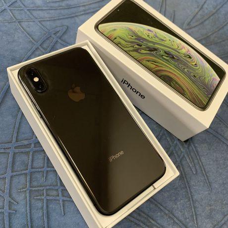 Идеальный! iPhone X'S 256GB Neverlock Space gray, не 64