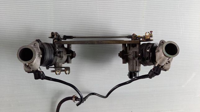 Moto Guzzi Breva V 750ie listwa wtryskowa kompletna