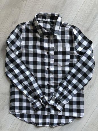 dziewczęca koszula w kratę 152