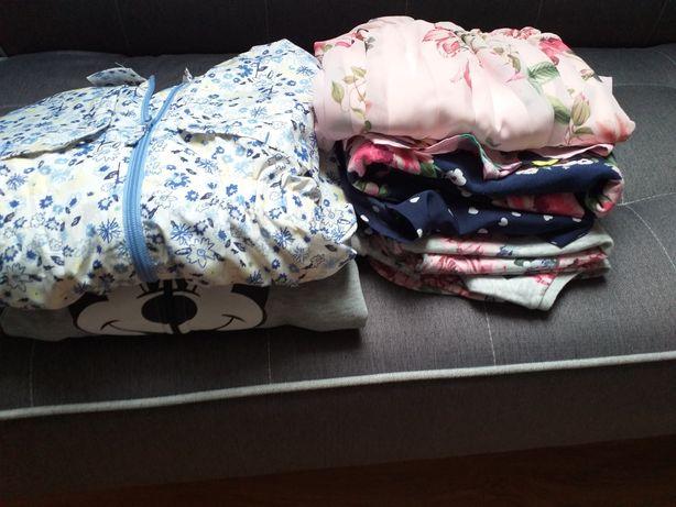 Sukienka, bluza,kurtka