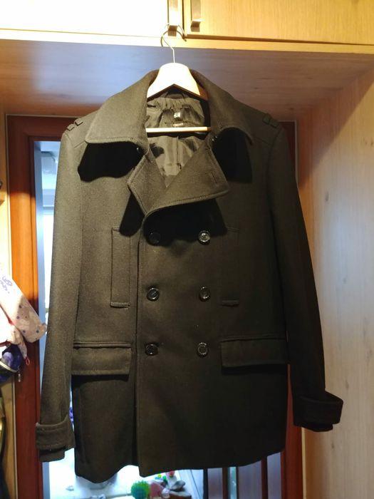 Męski płaszcz, płaszcz zimowy, wełniany płaszcz, płaszcz h and m Bielsko-Biała - image 1