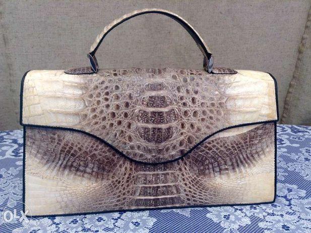Женская Сумка Lacoste (крокодиловая кожа)