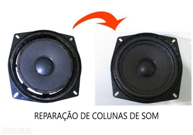 Reparação de colunas de som